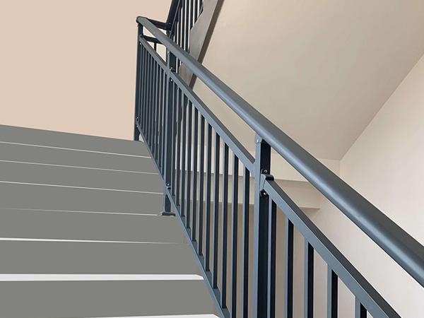 小区锌钢楼梯扶手