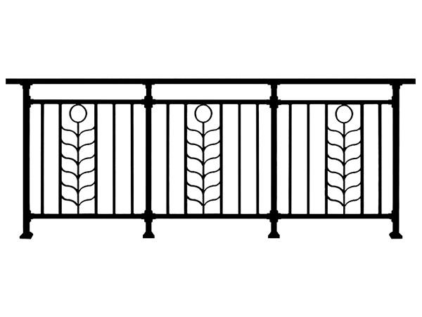 小区阳台栏杆