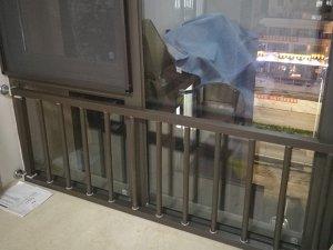 高层飘窗护栏