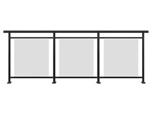 铝合金玻璃护栏