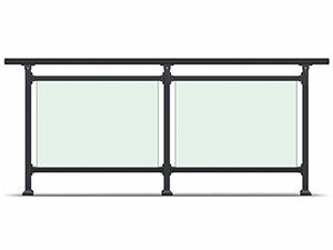 小区玻璃护栏