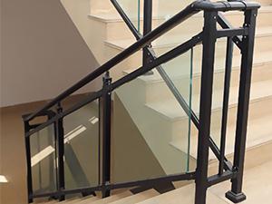 钢化玻璃楼梯扶手