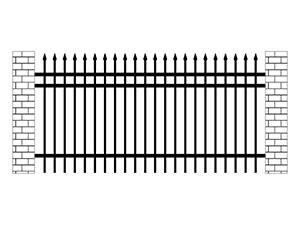 厂区锌钢围栏