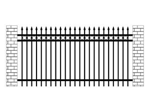 别墅锌钢围栏