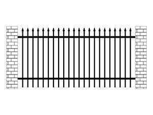 学校锌钢围栏