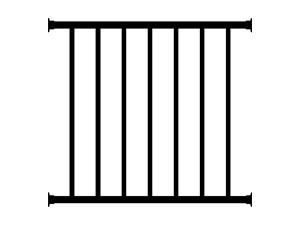 铝合金护窗栏杆