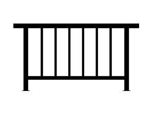 室外护窗栏杆