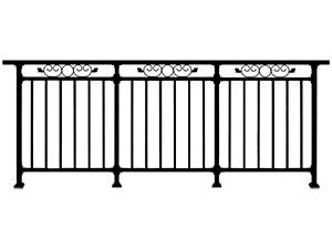 学校阳台栏杆
