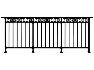 标准阳台栏杆