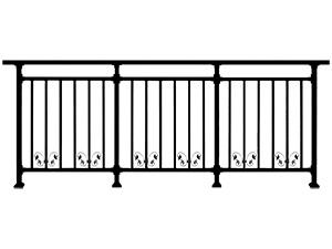 露天阳台栏杆