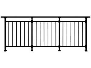 锌钢阳台栏杆