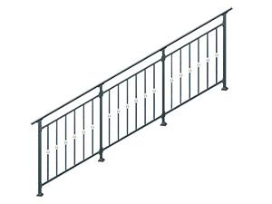 小区楼梯栏杆