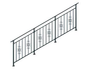 学校楼梯栏杆