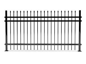 工厂锌钢栅栏