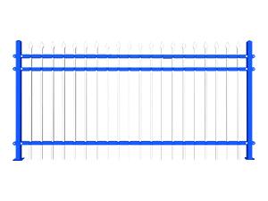 围墙锌钢栅栏