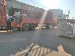 金用护栏2020年8月27日锌钢围墙护栏发货!