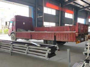 金用护栏2020年9月30日锌钢阳台护栏发货!