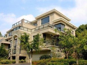 黄山鸿威东方丽景别墅楼梯扶手、阳台玻璃护栏定制