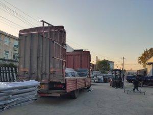 金用护栏2020年11月5日锌钢阳台护栏发货!