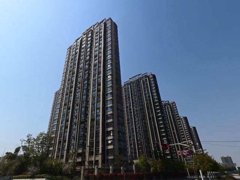 南京嘉誉山景苑小区阳台护栏、楼梯扶手定制