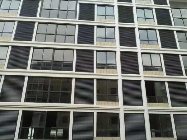 建筑百叶窗颜色