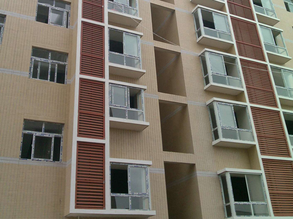 建筑百叶窗种类分类
