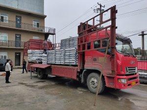 金用护栏2021年3月10日锌钢阳台护栏发货!