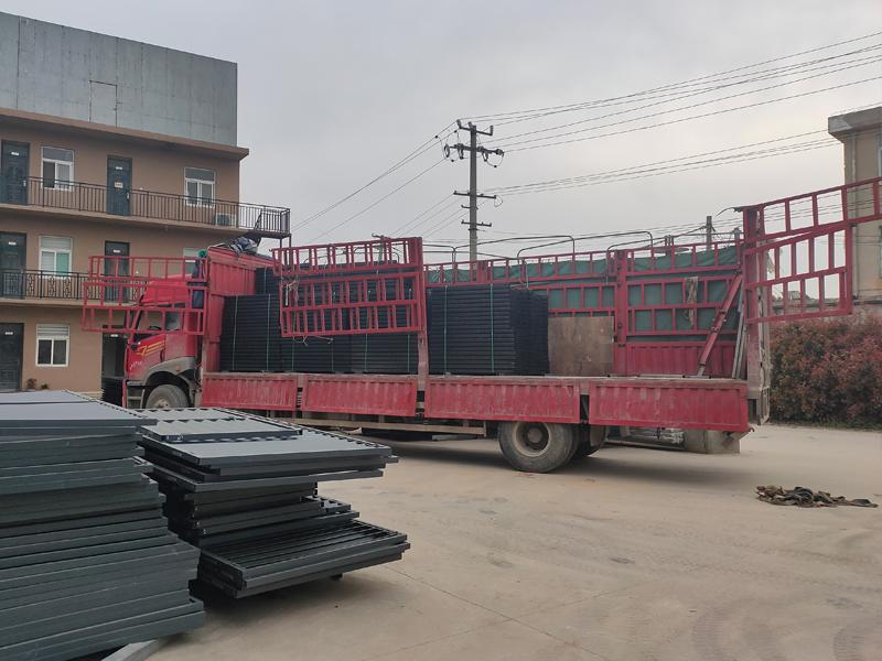 金用护栏2021年3月23日锌钢护窗栏杆发货!