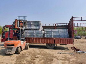 金用护栏2021年3月25日锌钢阳台栏杆发货!