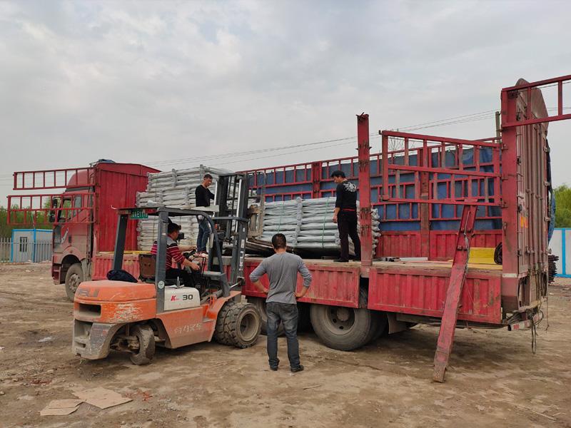 金用护栏2021年3月29日锌钢阳台栏杆发货!