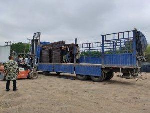 金用护栏2021年5月12日锌钢护窗栏杆发货!