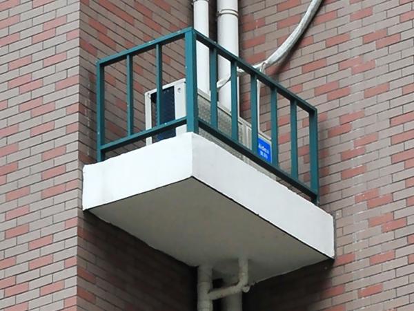 空调护栏应用