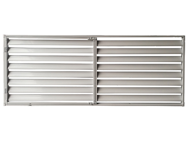 空调锌钢百叶窗