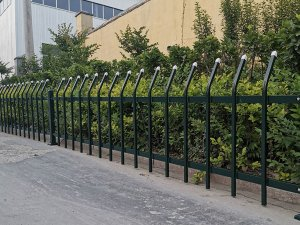 绿化护栏表面涂层处理工艺