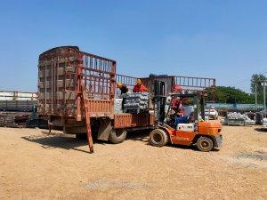 金用护栏2021年9月13日锌钢阳台护栏发货!