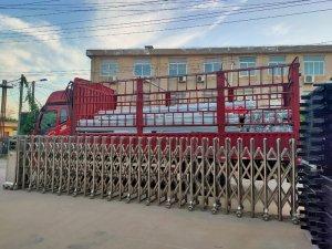 金用护栏2021年9月15日锌钢阳台护栏发货!