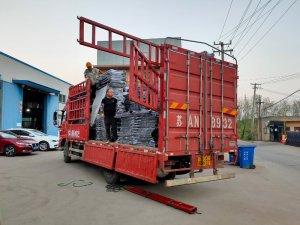 金用护栏2021年9月22日锌钢护窗栏杆发货!